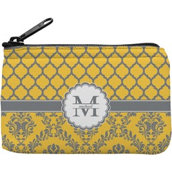 Damask & Moroccan Rectangular Coin Purse (Personalized)