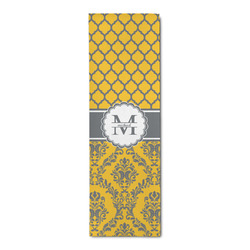 Damask & Moroccan Runner Rug - 3.66'x8' (Personalized)