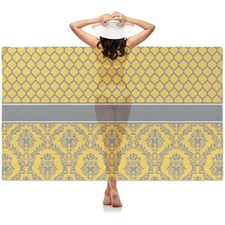 Damask & Moroccan Sheer Sarong (Personalized)