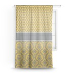 Damask & Moroccan Sheer Curtains (Personalized)