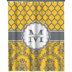 """Damask & Moroccan Extra Long Shower Curtain - 70""""x84"""" (Personalized)"""