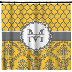 Damask & Moroccan Shower Curtain (Personalized)