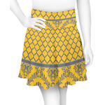 Damask & Moroccan Skater Skirt (Personalized)