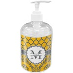 Damask & Moroccan Soap / Lotion Dispenser (Personalized)