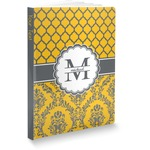 Damask & Moroccan Softbound Notebook (Personalized)
