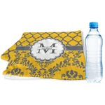 Damask & Moroccan Sports & Fitness Towel (Personalized)
