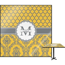 Damask & Moroccan Square Table Top (Personalized)