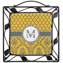 Damask & Moroccan Trivet (Personalized)