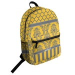Damask & Moroccan Student Backpack (Personalized)