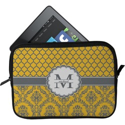 Damask & Moroccan Tablet Case / Sleeve (Personalized)