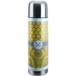 Damask & Moroccan Stainless Steel Thermos (Personalized)