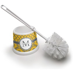 Damask & Moroccan Toilet Brush (Personalized)