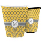 Damask & Moroccan Waste Basket (Personalized)