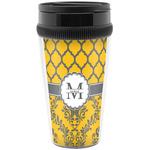 Damask & Moroccan Travel Mugs (Personalized)