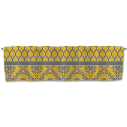Damask & Moroccan Valance (Personalized)