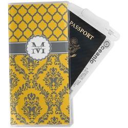 Damask & Moroccan Travel Document Holder