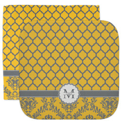 Damask & Moroccan Facecloth / Wash Cloth (Personalized)