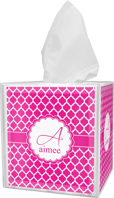 Moroccan Tissue Box Cover Personalized