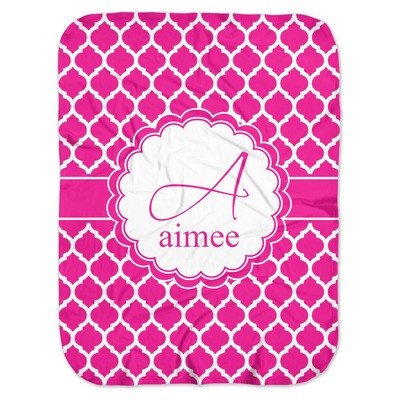 Moroccan Baby Swaddling Blanket (Personalized)