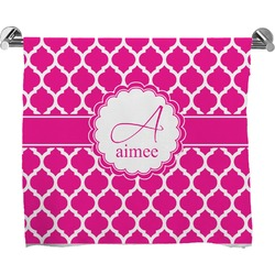 Moroccan Full Print Bath Towel (Personalized)