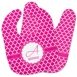 Moroccan Baby Bib w/ Name and Initial