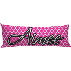Moroccan Body Pillow Case (Personalized)