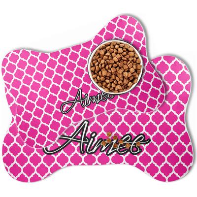 Moroccan Bone Shaped Dog Food Mat (Personalized)