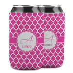 Moroccan Can Cooler (12 oz) w/ Name and Initial