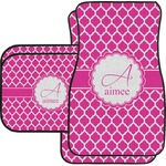 Moroccan Car Floor Mats Set - 2 Front & 2 Back (Personalized)