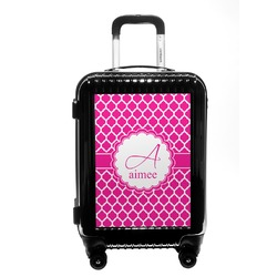Moroccan Carry On Hard Shell Suitcase (Personalized)