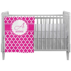 Moroccan Crib Comforter / Quilt (Personalized)