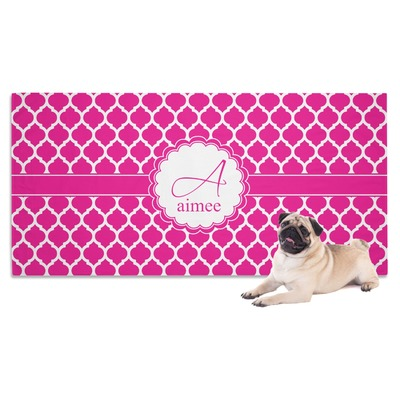 Moroccan Dog Towel (Personalized)