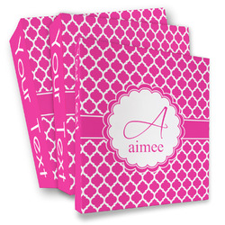 Moroccan 3 Ring Binder - Full Wrap (Personalized)