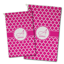 Moroccan Golf Towel - Full Print w/ Name and Initial