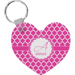 Moroccan Heart Keychain (Personalized)