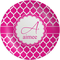 """Moroccan Melamine Plate - 8"""" (Personalized)"""