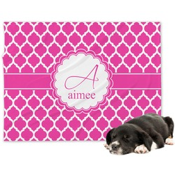 Moroccan Minky Dog Blanket (Personalized)