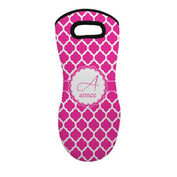 Moroccan Neoprene Oven Mitt - Single w/ Name and Initial