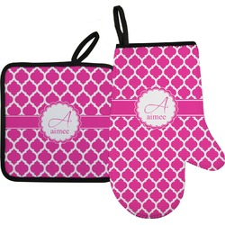 Moroccan Oven Mitt & Pot Holder (Personalized)