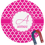 Moroccan Round Fridge Magnet (Personalized)