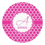 Moroccan Round Decal (Personalized)