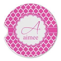 Moroccan Sandstone Car Coasters (Personalized)