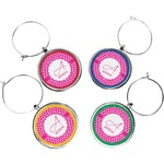 Moroccan Wine Charms (Set of 4) (Personalized)