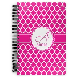 Moroccan Spiral Notebook (Personalized)