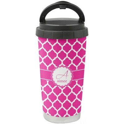 Moroccan Stainless Steel Travel Mug (Personalized)