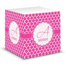 Moroccan Sticky Note Cube (Personalized)