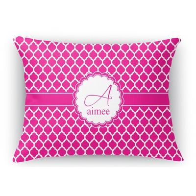 Moroccan Rectangular Throw Pillow - 18