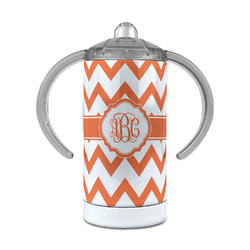 Chevron 12 oz Stainless Steel Sippy Cup (Personalized)