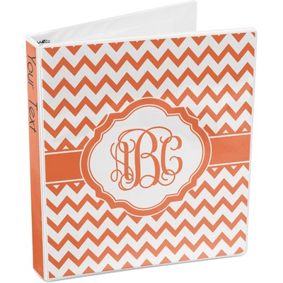 Chevron 3-Ring Binder (Personalized)
