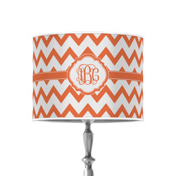 """Chevron 8"""" Drum Lamp Shade - Poly-film (Personalized)"""